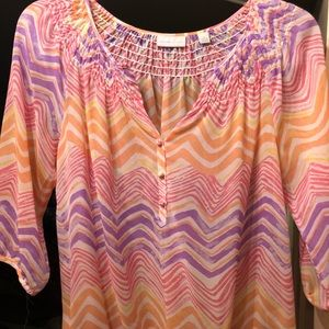 New York and Company Sz M Blouse